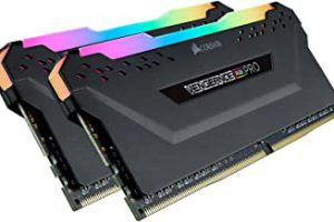 Corsair Vengeance RGB Pro – Memoria DDR4 de 32 GB (2 x 16 GB) 3200 (PC4-25600) C16, color negro